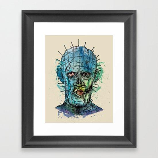 Zombie Raiser Framed Art Print