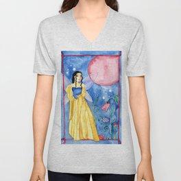 Fairy Moon Magic Unisex V-Neck