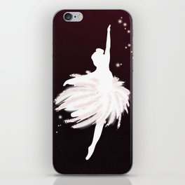 Space Ballerina (1 of 3) iPhone Skin