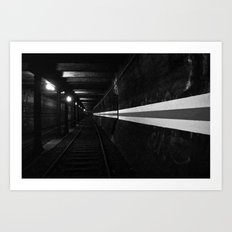 Urbex - Berlin Underground Art Print