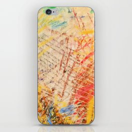 Abstract Daily Life iPhone Skin