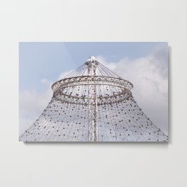 Metal Canopy Ring for U.S. Pavilion for The 1974 World's Fair Metal Print