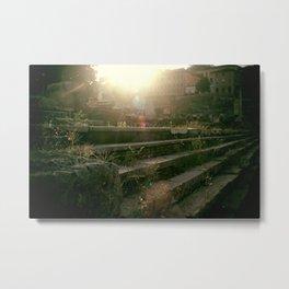 CAESAR'S STEPS Metal Print