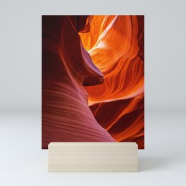 SCULPTURE OF NATURE ANTELOPE CANYON ARIZONA PHOTOGRAPHY Mini Art Print