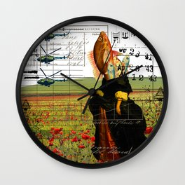 THE VISIT II Wall Clock