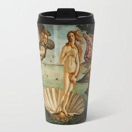 The Birth of Venus (Nascita di Venere) by Sandro Botticelli Travel Mug