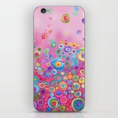 Inner Circle - Pink iPhone Skin