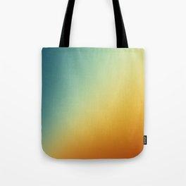 Gradient Colours: Orange Blue Tote Bag