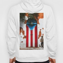 PUERTO RICO FLAG DOOR Hoody