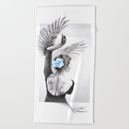The Swan Beach Towel