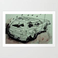 greencar Art Print