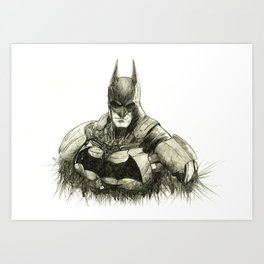 Darkest Knight Art Print
