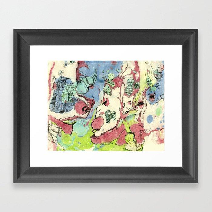 #23 Come All Ye Annoying Little Children and Bring Tidings of the Mechanical Spirit Framed Art Print