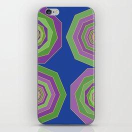 Unbalanced octagon iPhone Skin