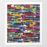 69 chevelle Art Print