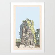 The Donnybrook Ruin Art Print