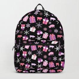 Piggy Pattern Presents Backpack