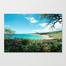 Kāʻanapali Beach Maui Hawaii Canvas Print