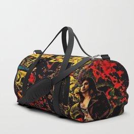 Ash Faces Many Evils Duffle Bag