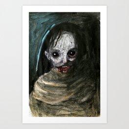 Demon Woman Art Print