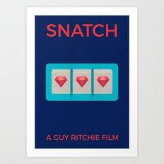 Snatch Alternative Poster Art Print