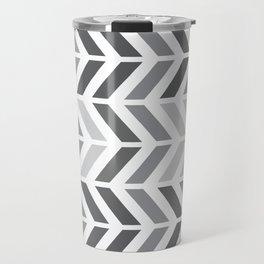 chevron horizontal Travel Mug