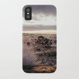 Angry Lake iPhone Case