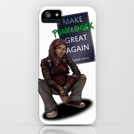 Make Punk Rock Great Again iPhone Case
