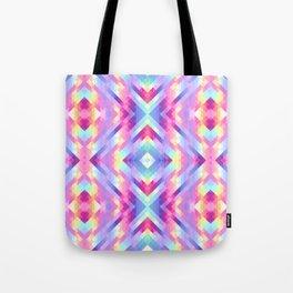Geometric pastel Tote Bag