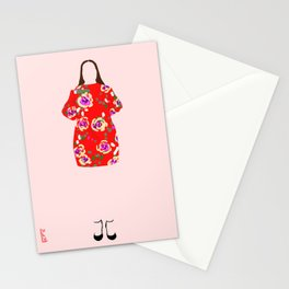 Summer Outfit Stationery Cards