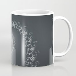 Follow the White Light - Fractal Art Coffee Mug