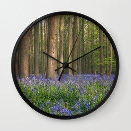 Hallerbos Wall Clock