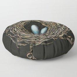 Robin's Nest Floor Pillow