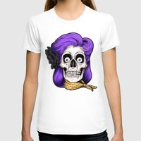 rockabilly T-shirts featuring Rockabilly Skull by Mark Matlock