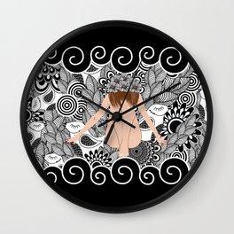 Pattern 98 Wall Clock