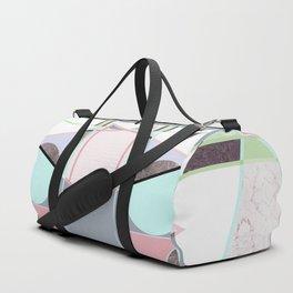 Italian 80's scandinavian style Duffle Bag