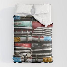 Cuba Car Grilles - Vertical Format  Comforters