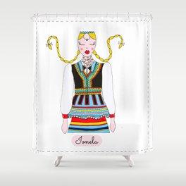 IONELA Shower Curtain