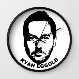 Ryan Eggold Wall Clock