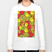 monsters Long Sleeve T-shirts featuring Monsters by Nastya Bo