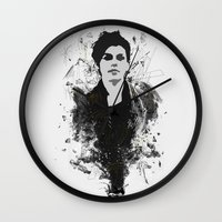 sketch Wall Clocks featuring Sketch by Stefano Messina