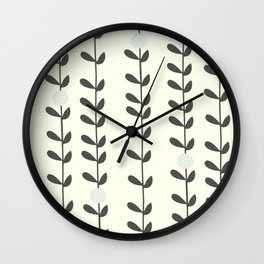Leaf Wall Clock