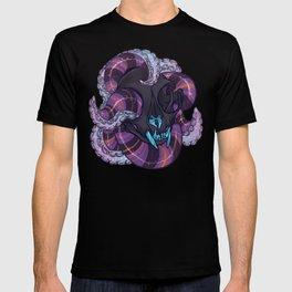 Tentacles and skulls T-shirt