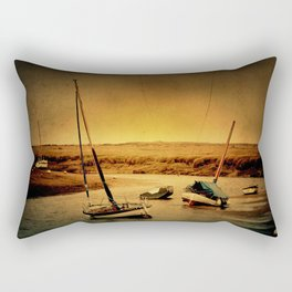 Blakeney Boats Rectangular Pillow