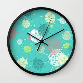 Floating on Memories Wall Clock
