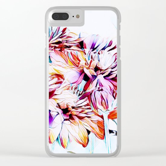 Mums the Word Clear iPhone Case