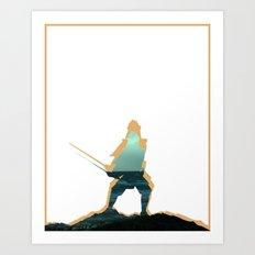 Samuraj Art Print