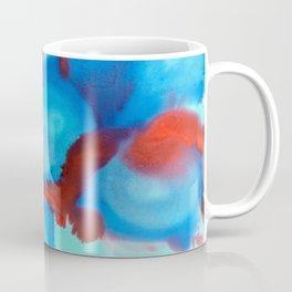 Wine and Seaglass Coffee Mug