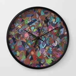 Font Nihongo Wall Clock
