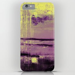 Yellow Color Patches iPhone Case